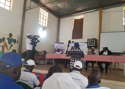 Amani team attending the ICCdialogue for Dominic Ongwen in Gulu