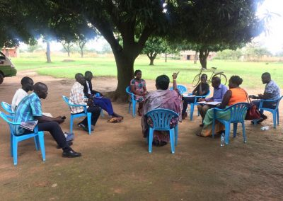 Community dialogue with women clan leaders
